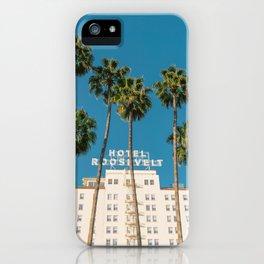 Hollywood Hotel III iPhone Case