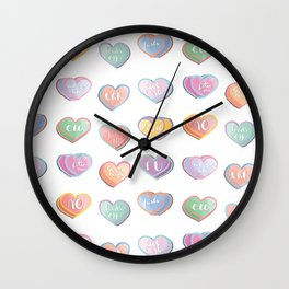 not your valentine. Wall Clock