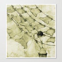 Salt of the earth Canvas Print