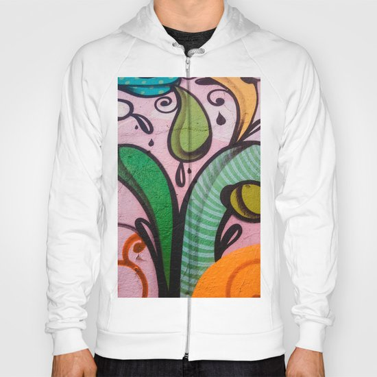 Colors at the wall Hoody