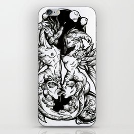 Sea-Horses iPhone Skin