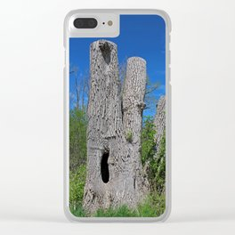 Broken Fingers Clear iPhone Case