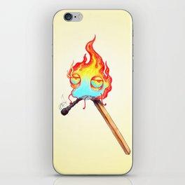 Mr. Flame iPhone Skin