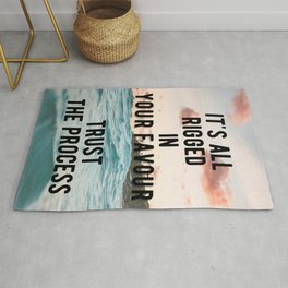 Motivational - Trust The Process Rug