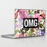 2pac Laptop & iPad Skins featuring OMG by Text Guy