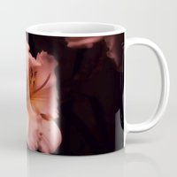 lily Mugs featuring Lily by Christine Belanger
