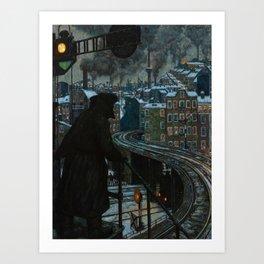 Working-Class City by Hans Baluschek, 1920 Art Print