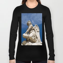 WHITE ANGEL - Sicily - Italy Long Sleeve T-shirt