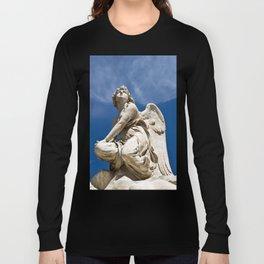 WHITE ANGEL - Sicily - Italy Long Sleeve T-shirt