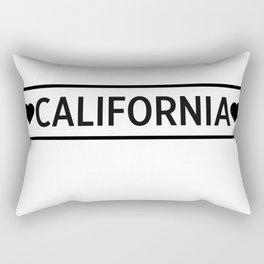 Love California Rectangular Pillow