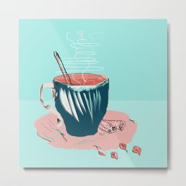 coffee with love Metal Print