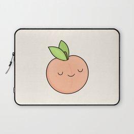 Happy Peach Laptop Sleeve