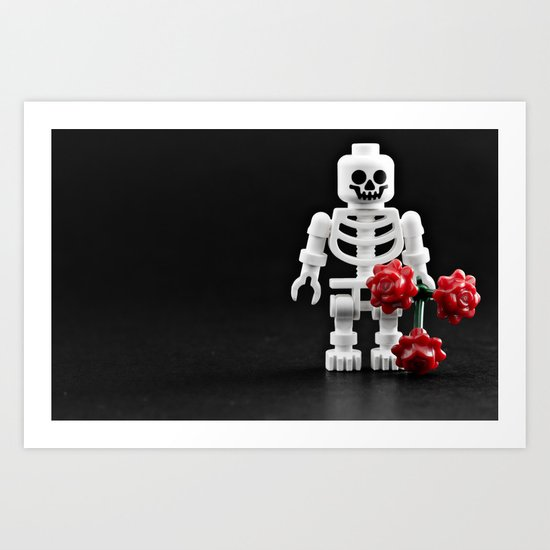 Love me? Art Print