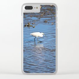 Sneaky Snowy Clear iPhone Case