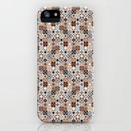 Kalahari Beach Diamond Check iPhone Case