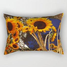 Sunflowers - flowers Rectangular Pillow