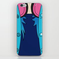 dmmd iPhone & iPod Skins featuring Aoba Seragaki Outfit DMMD by Bunny Frost