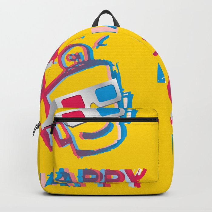 3D HAPPY Backpack