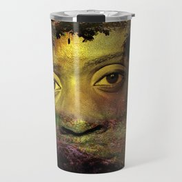 Looking at you from a deep forest. Travel Mug
