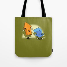 the up and down show! Tote Bag