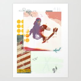 Jump so high Art Print