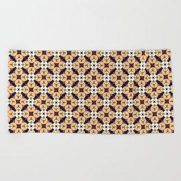 buda pattern Beach Towel