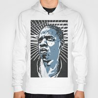 jay z Hoodies featuring Jay-Z by Hans Poppe