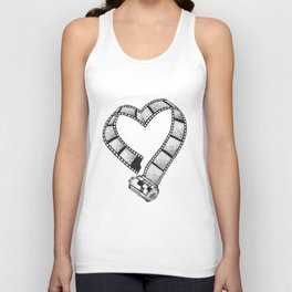 Love of Photography Unisex Tank Top