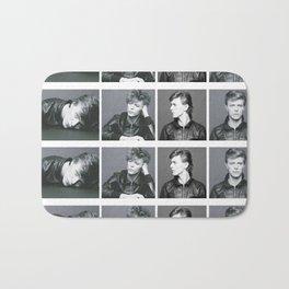 Monochrome Magnificence: Bowie Bath Mat
