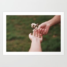 Our spring II Art Print