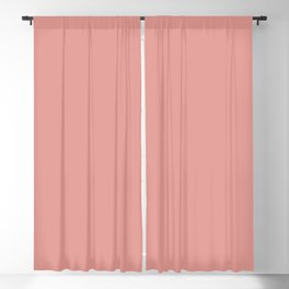 Coral Almond Blackout Curtain