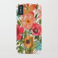 oana befort iPhone & iPod Cases featuring BOUQUET by Oana Befort