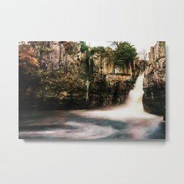 High Force Waterfall. Metal Print