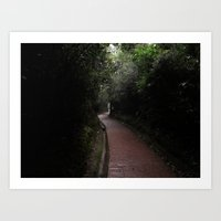 Nature trail Art Print