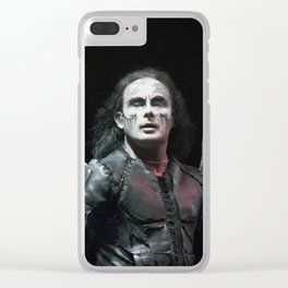 Cradle of Filth #OnStagePortrait Clear iPhone Case