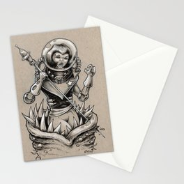 Attack of the Toothworm Stationery Cards