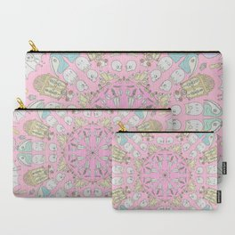 Death Spin Pink Carry-All Pouch