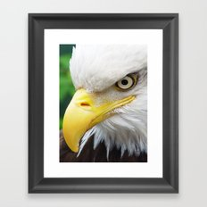 The Look Framed Art Print