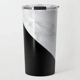 Marble, Stone, Color Block, Minimal Art Travel Mug