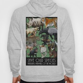 Save Our Species: Vanishing Mammals of the World Hoody