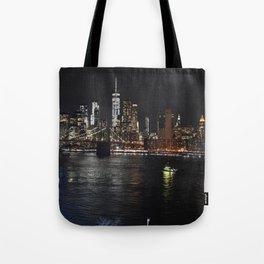Night Sights Tote Bag