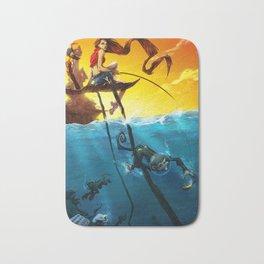 Sea Monkeys Bath Mat