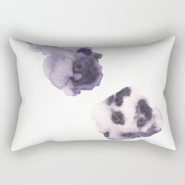 170714 Abstract WATERCOLOUR Play 8 |Modern Watercolor Art | Abstract Watercolors Rectangular Pillow