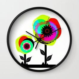 Fleurs 02 Wall Clock