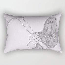 Crocodile's Axe  Rectangular Pillow