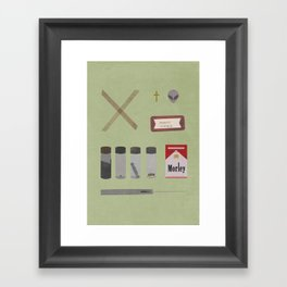 X Files v2 Framed Art Print