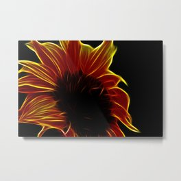 Sunflower glow Metal Print