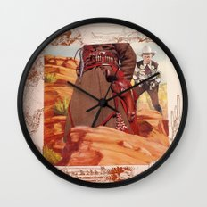 She Cried To The Southern Wind Wall Clock