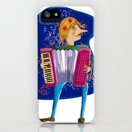 Junina's Party Festival with with accordion music iPhone Case