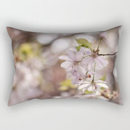 Springblossoms at backlight Rectangular Pillow